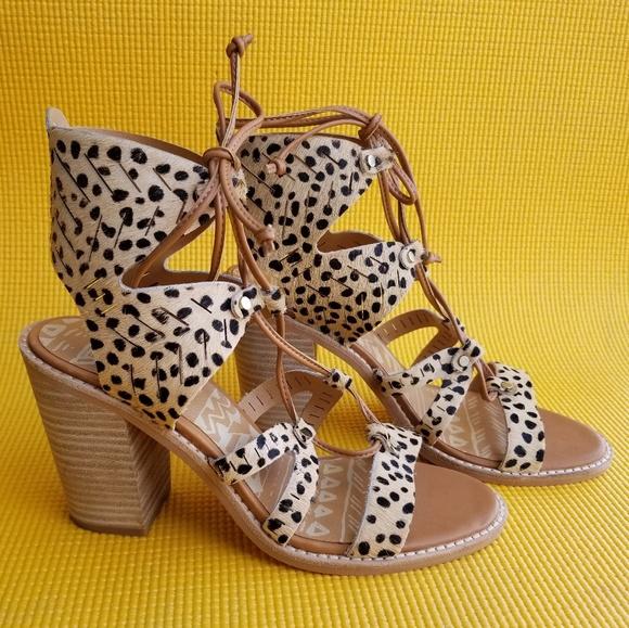 c28db7982733 Dolce Vita Shoes - Dolce Vita Luci Leopard Heel Sandal
